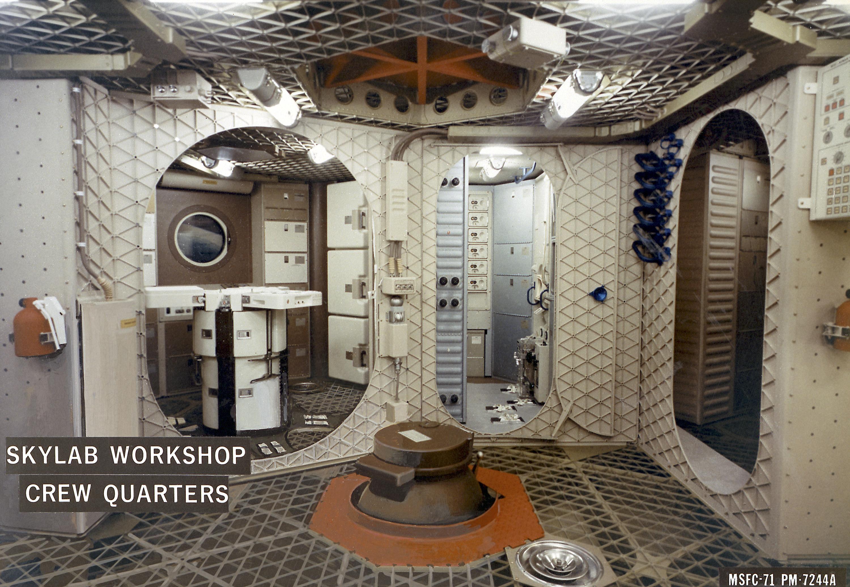 File Internal Arrangement Of The Skylab Orbital Workshop