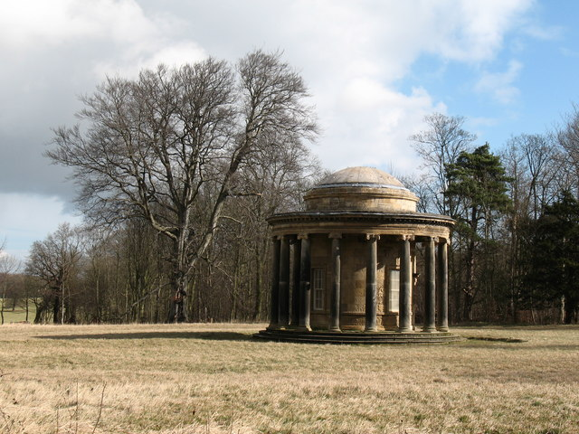 Ionic temple, Bramham Park - geograph.org.uk - 722150