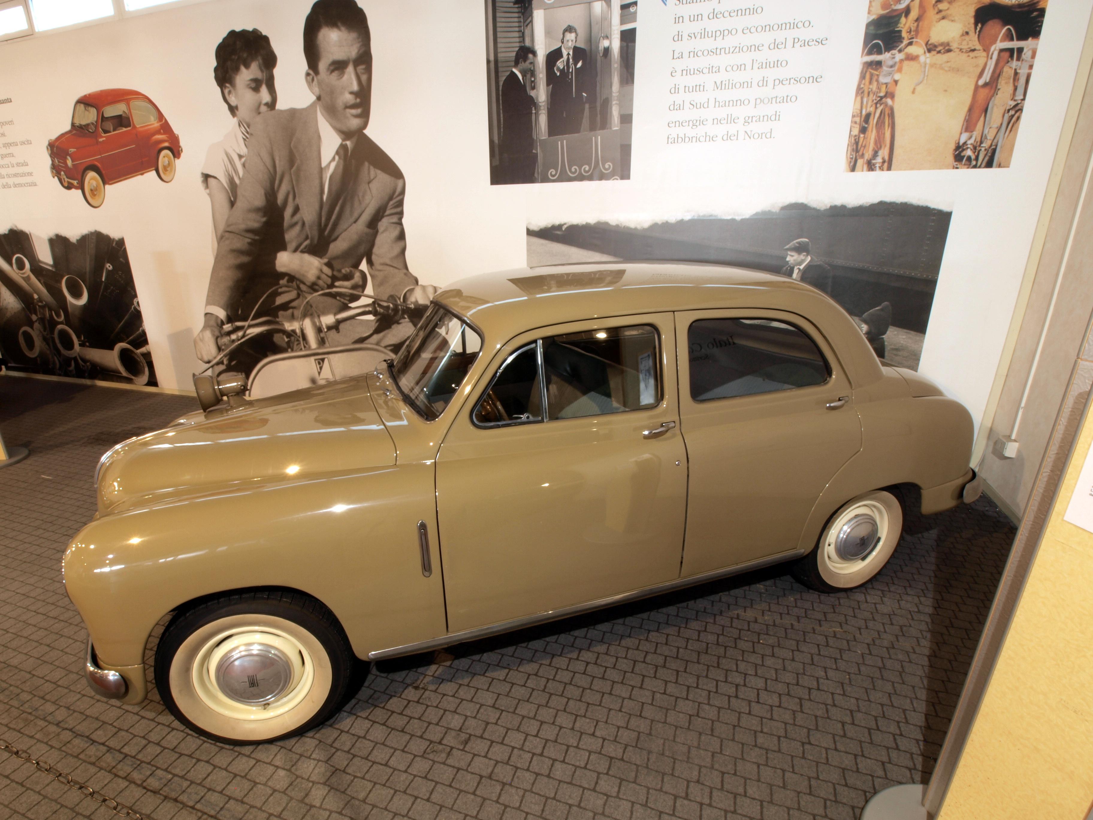 File Italian Police Car 1950 Fiat 1400 Polizia 11649