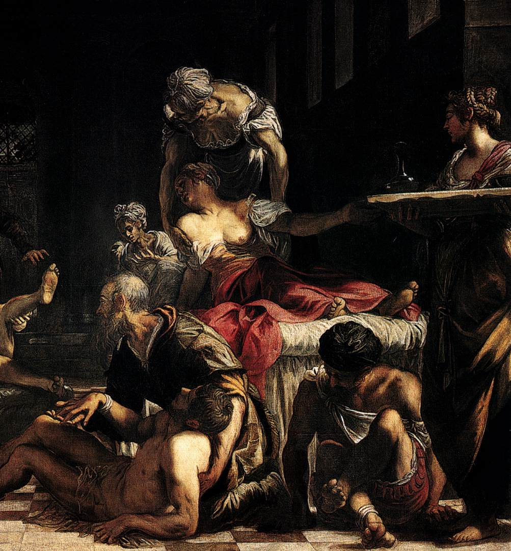 Image result for tintoretto plague