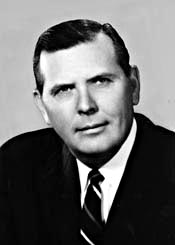Rep. Joel Broyhill, who became a bridge opponent and helped convince Nixon to oppose Natcher. JoelBroyhill.jpg