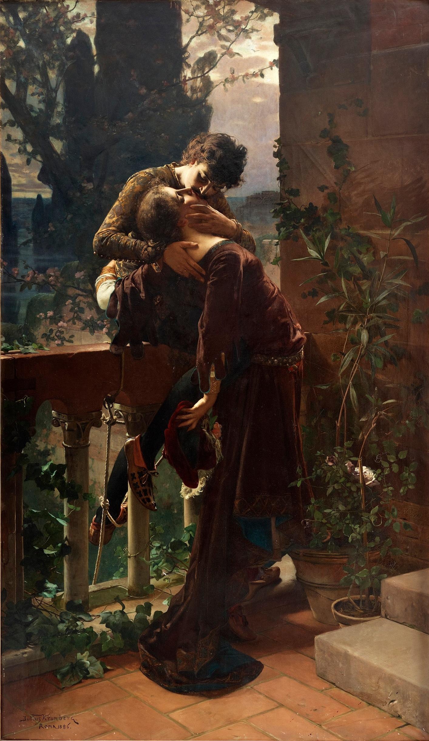 Filejulius Kronberg Romeo Och Julia På Balkongenjpg