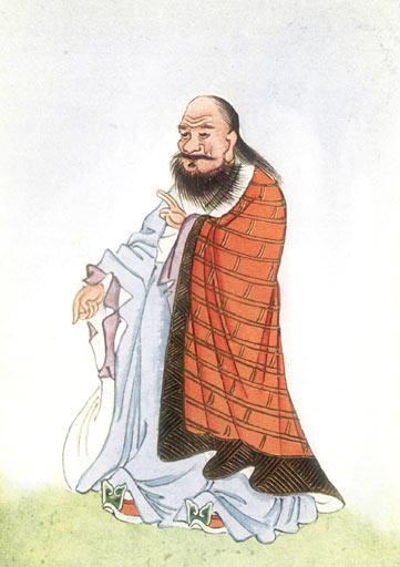 Lao Tzu, courtesy of Project Gutenberg, Wikimedia Commons.