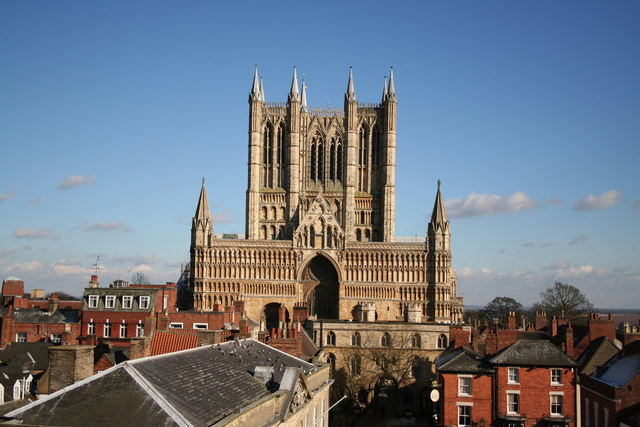 Lincoln Cathedral from the Castle east gate - geograph.org.uk - 134106