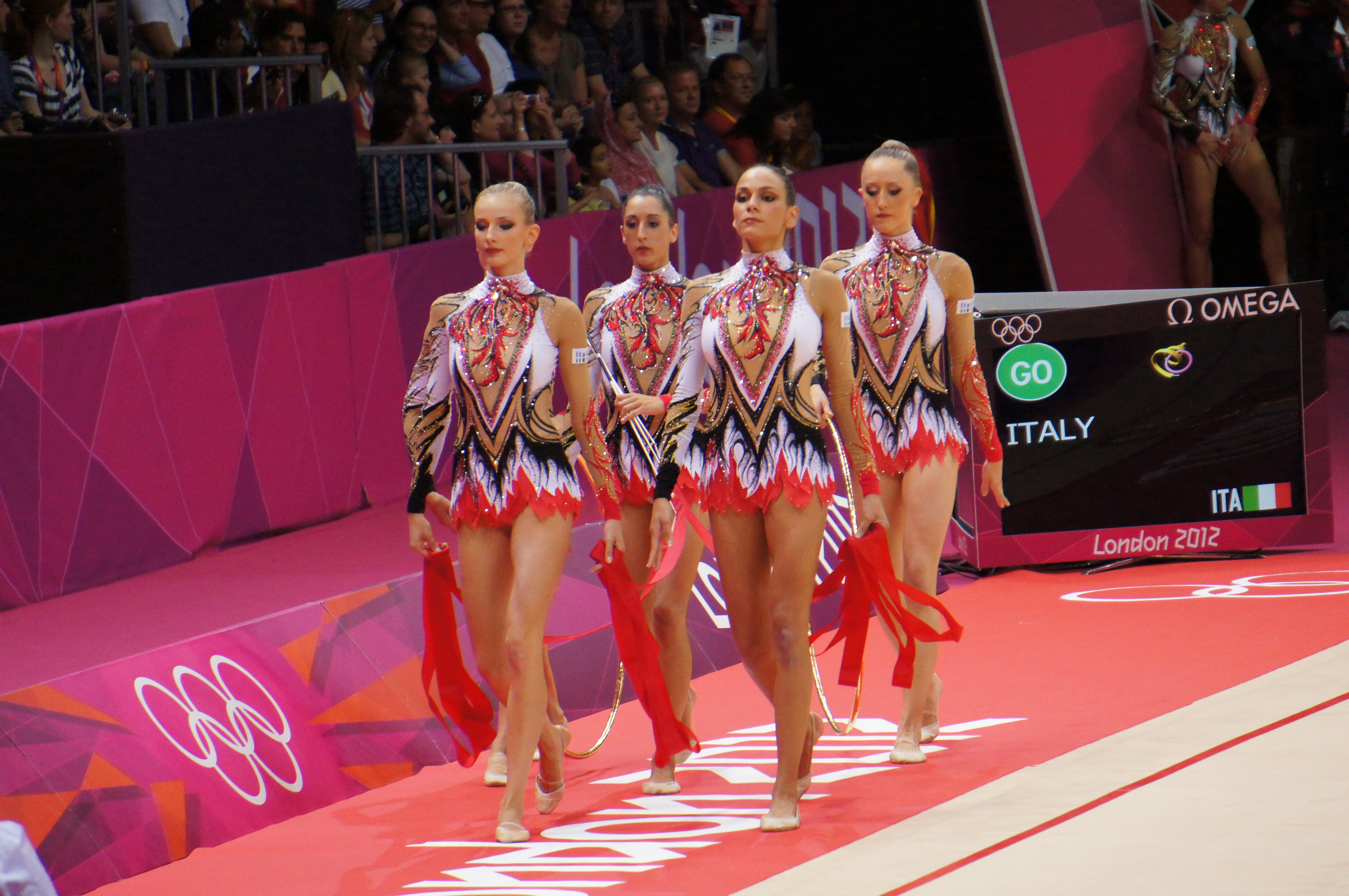 File:London 2012 Rhythmic Gymnastics - Italy.jpg - Wikimedia Commons