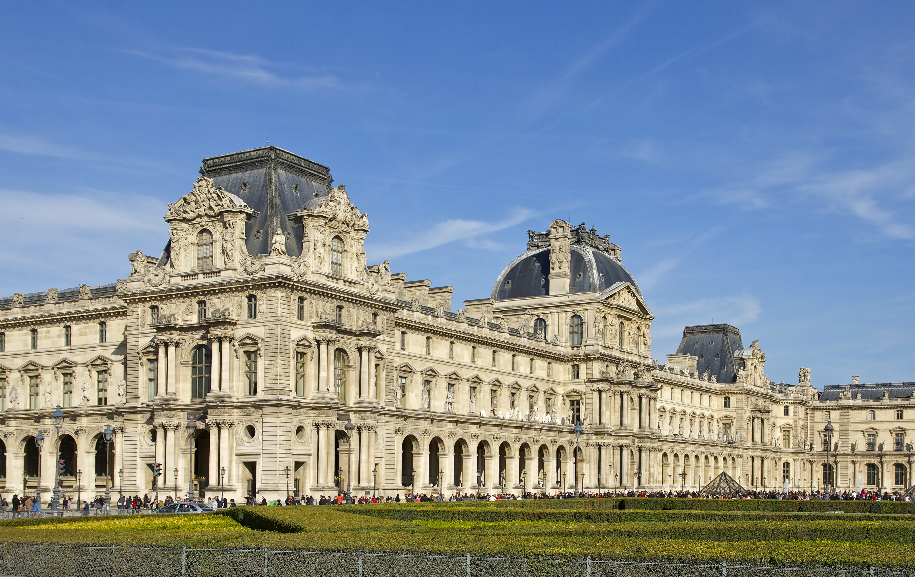 Pinterest the world s catalog of ideas - Construction of the louvre ...