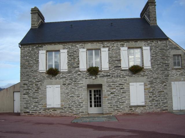 Nouainville's town hall, Manche, France