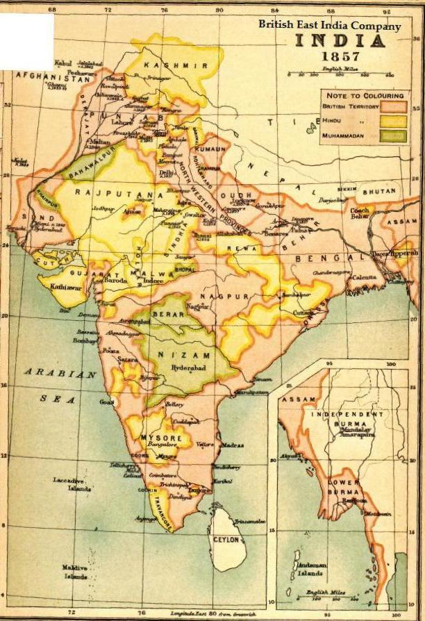 List of Maratha dynasties and states - Wikipedia