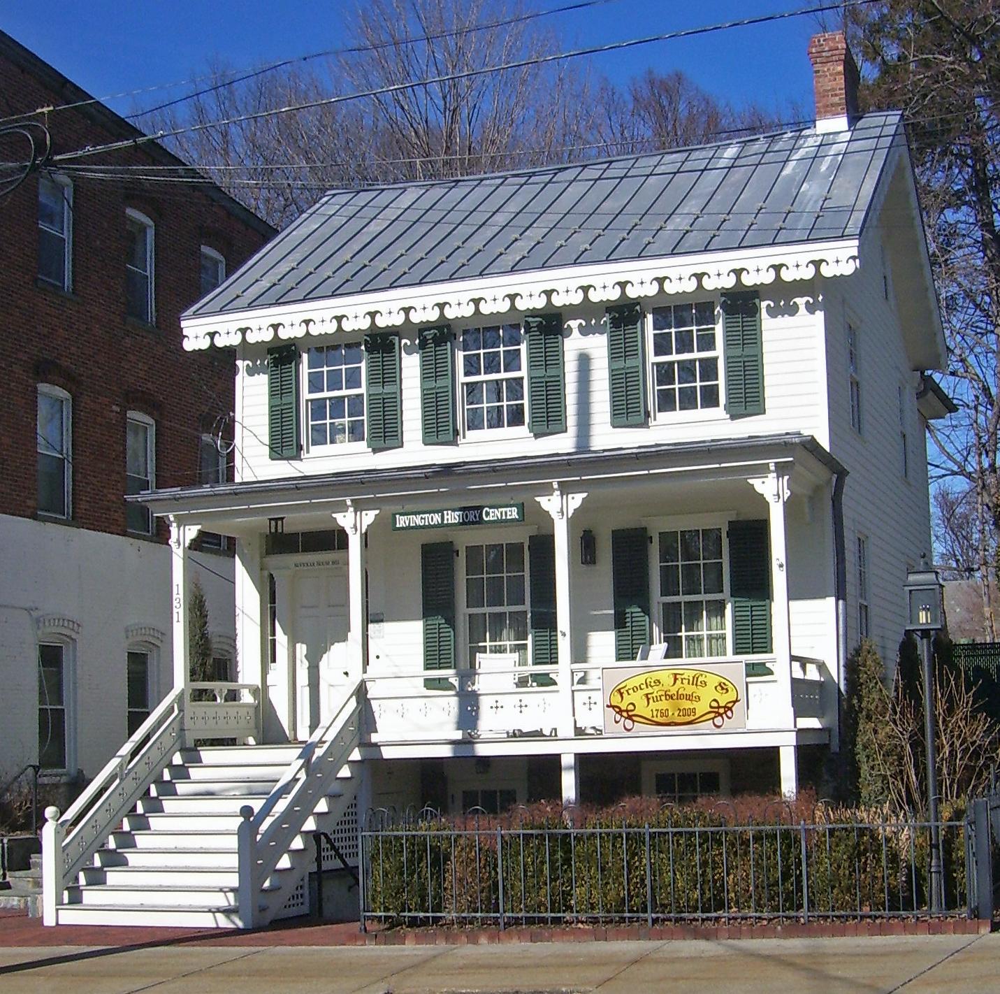 File Mcvickar House Irvington Ny Jpg Wikipedia