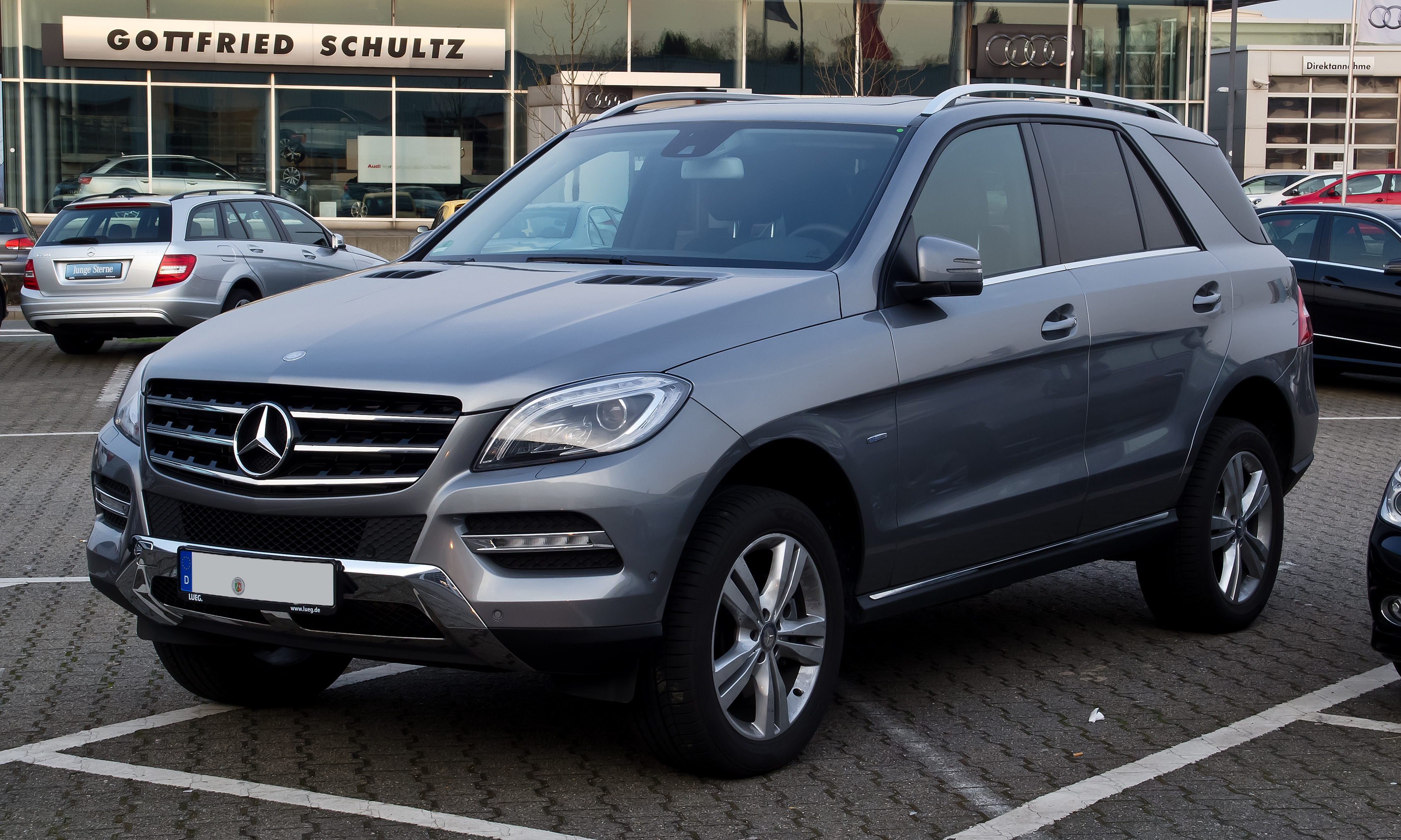 file mercedes benz ml 250 bluetec 4matic w 166 frontansicht 24 m rz 2012. Black Bedroom Furniture Sets. Home Design Ideas