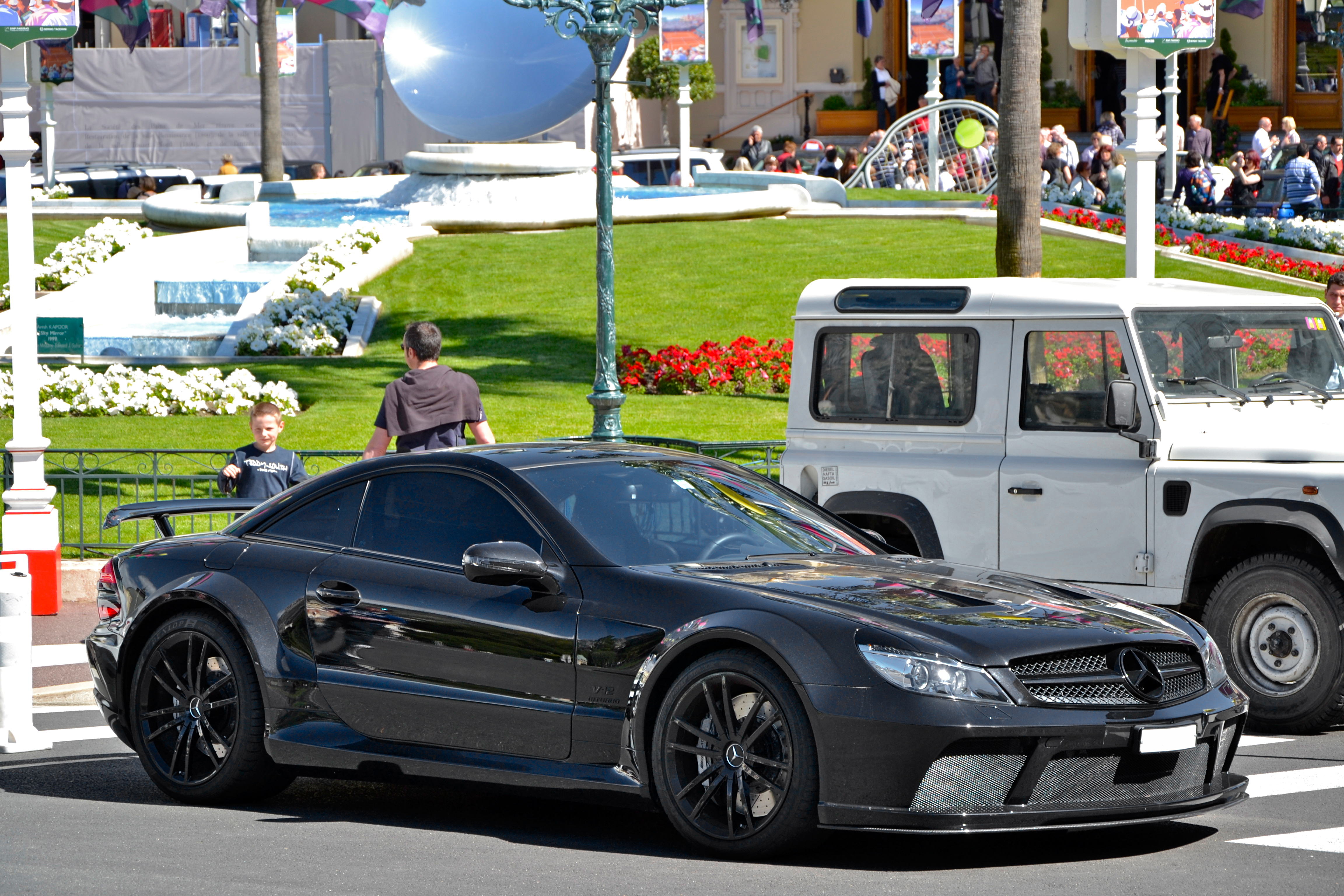 File Mercedes Benz Sl65 Amg Black Series Flickr Alexandre Images, Photos, Reviews