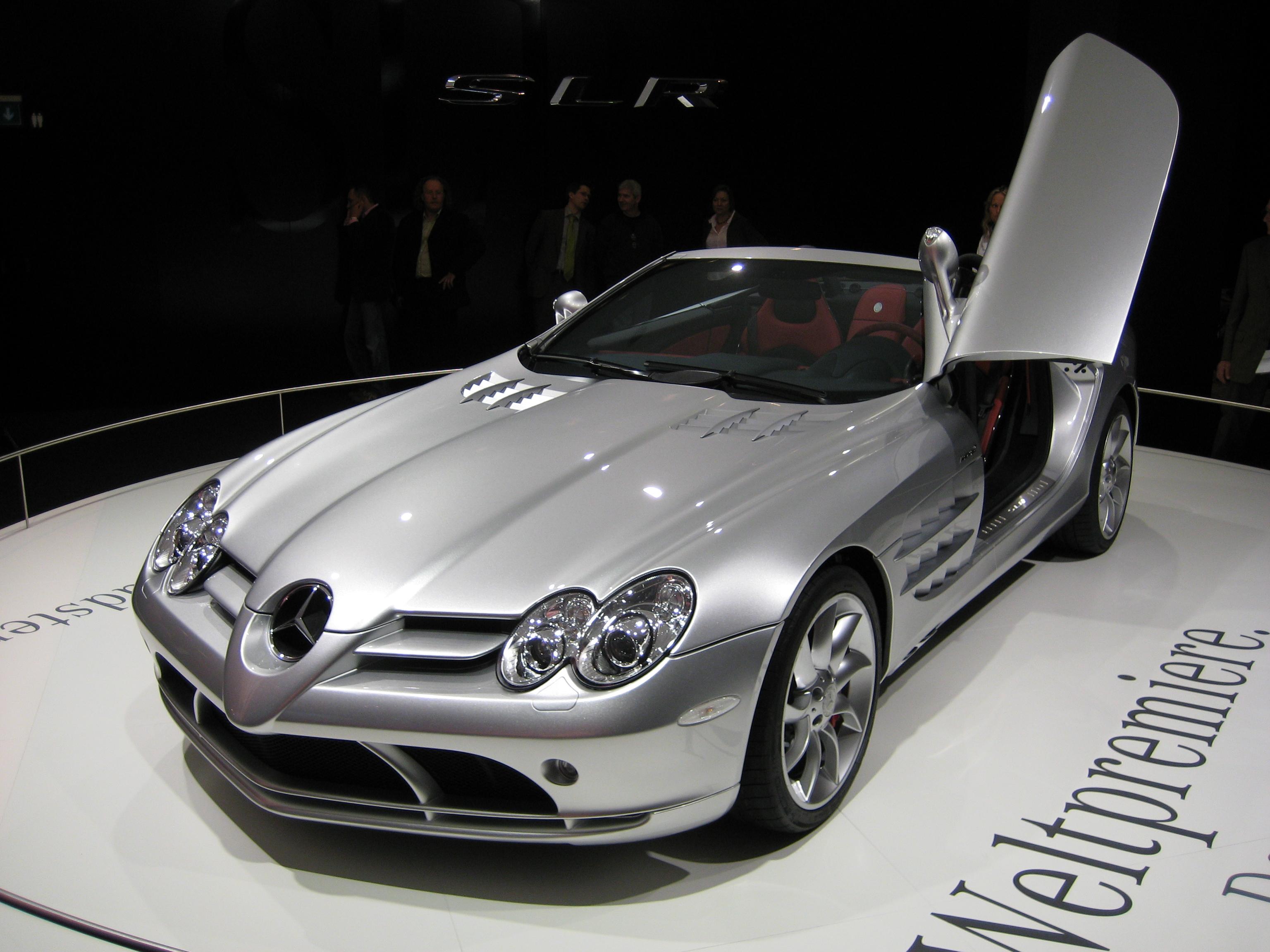 Mercedes McLaren Roadster
