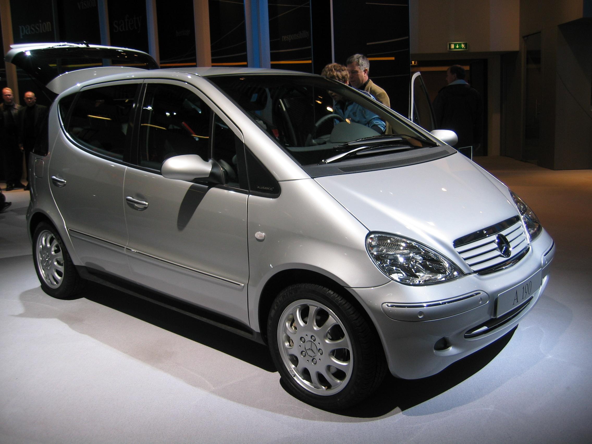 Mercedes Benz Classe A Type 168 Wikipedia