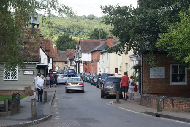 Middle Street, Shere, Surrey - geograph.org.uk - 1434321