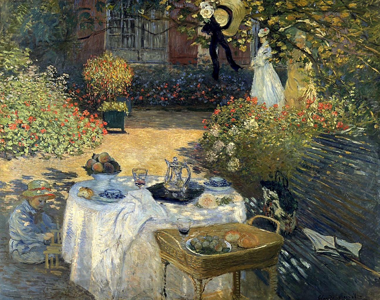 Camille Monet Auf Einer Gartenbank Wikipedia