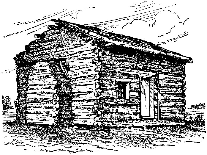 File Nsrw Lincoln Abraham Log Cabin Png Wikimedia Commons