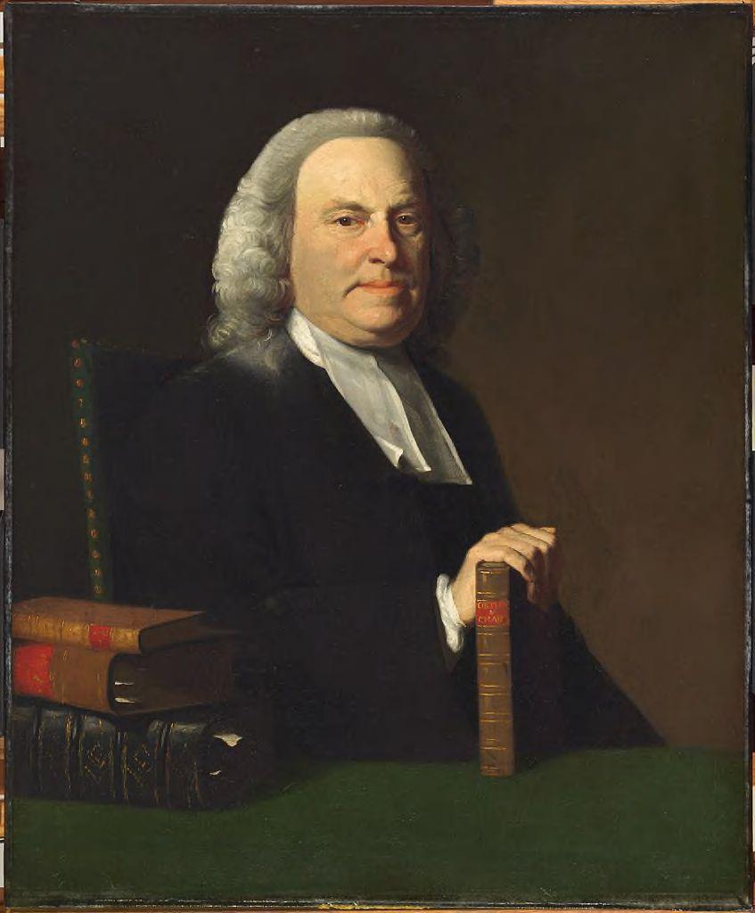 Nathaniel Appleton, portrait by [[John Singleton Copley]]