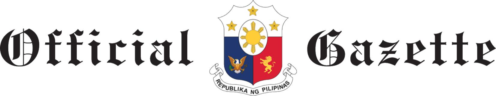 Fileofficial Gazette Philippines Titleg Wikimedia Commons