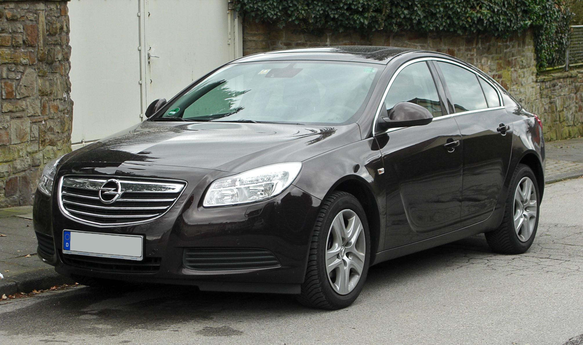 File:Opel Insignia 2.0 CDTI Ecotec Selection ...