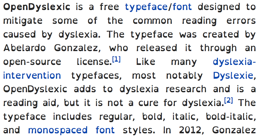 Having A Hard Time Focusing Research Identifies Complex Of >> Dyslexia Wikipedia
