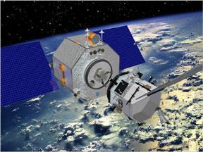 Orbital Express Satellite