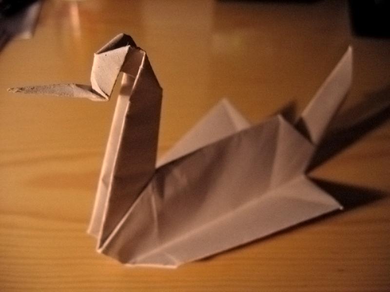 Как сделать оригами из побега 602