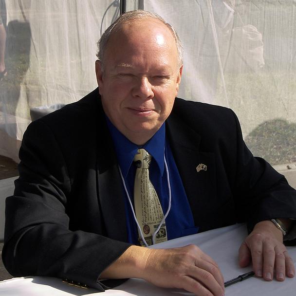 Burton at the 2007 Texas Book Festival