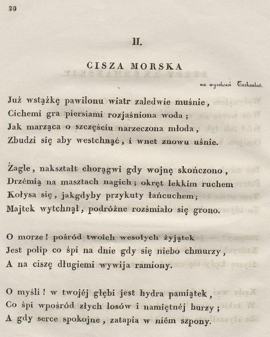 Cisza Morska Wikipedia Wolna Encyklopedia