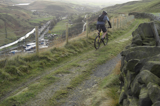 Pennine Bridleway near Summit - geograph.org.uk - 1049776