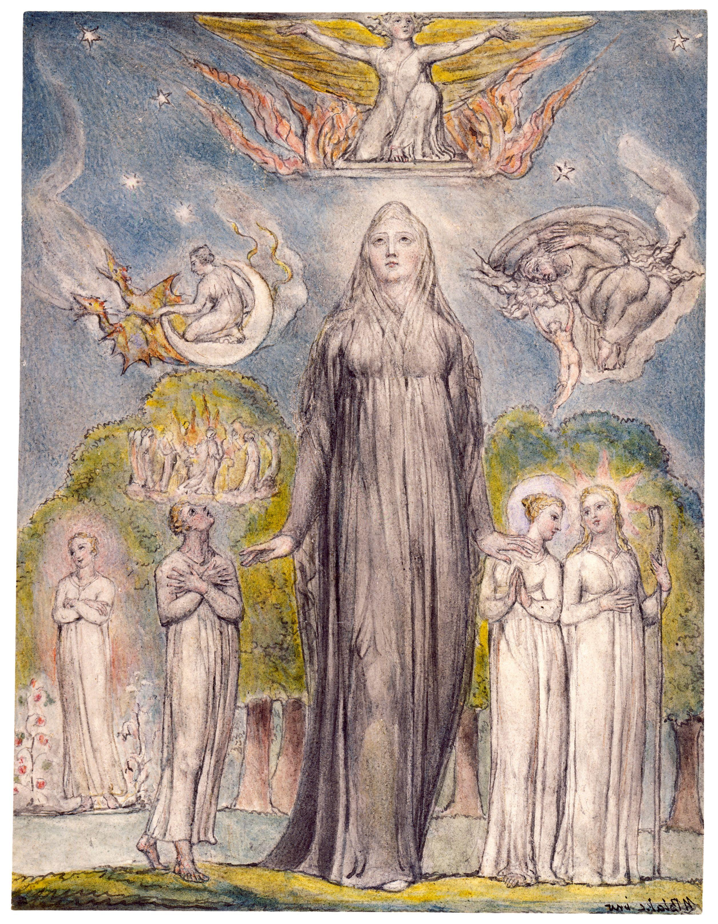 the work of william blake essay In his life of william blake (1863) alexander gilchrist warned his readers that blake neither wrote nor drew for the many, hardly for work'y-day men at all, rather for children and angels himself 'a divine child,' whose playthings were sun , moon, and stars, the heavens and the earth yet blake himself believed that his.