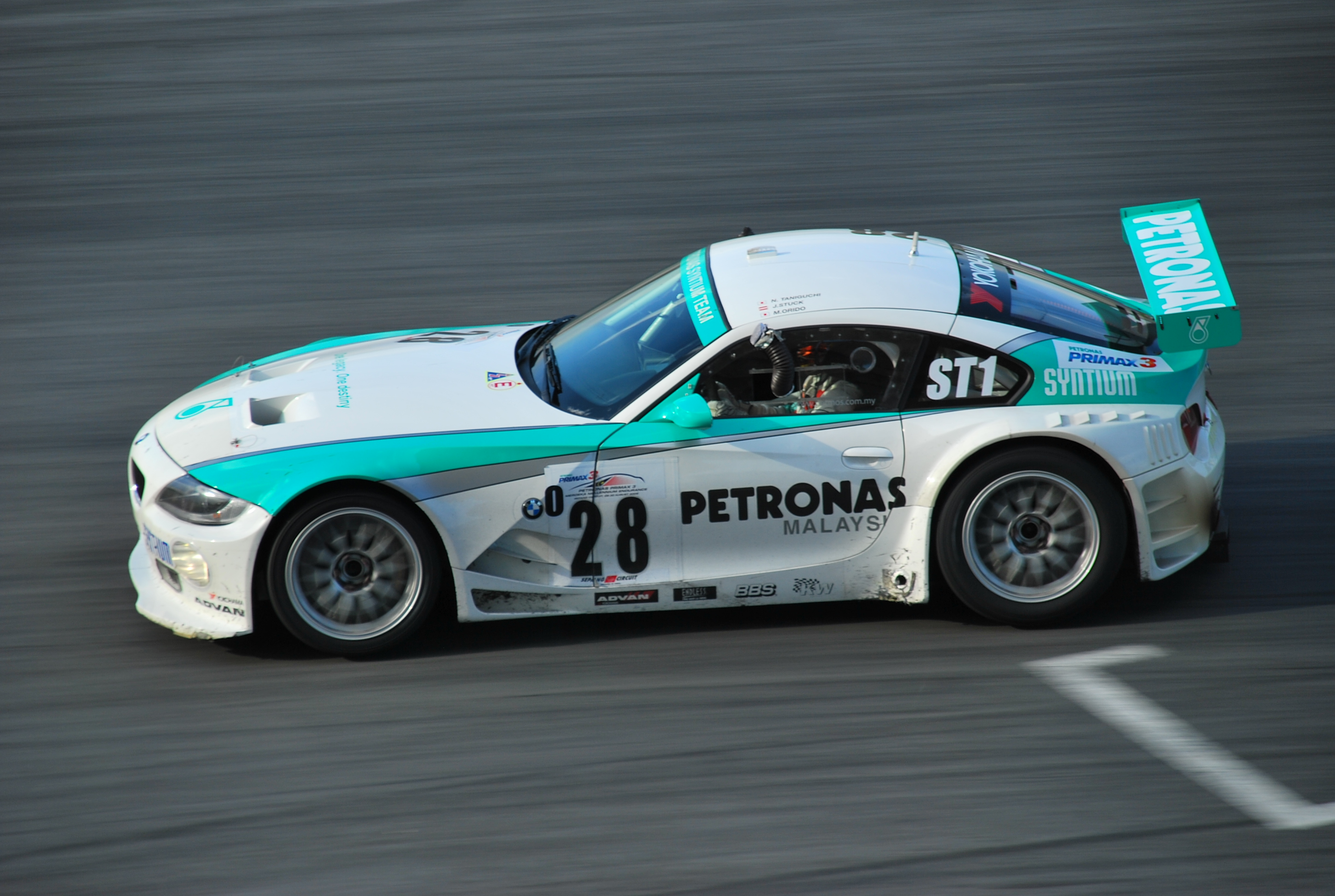 File Petronas Syntium Team Bmw Z4 M Coup 233 At The 2008