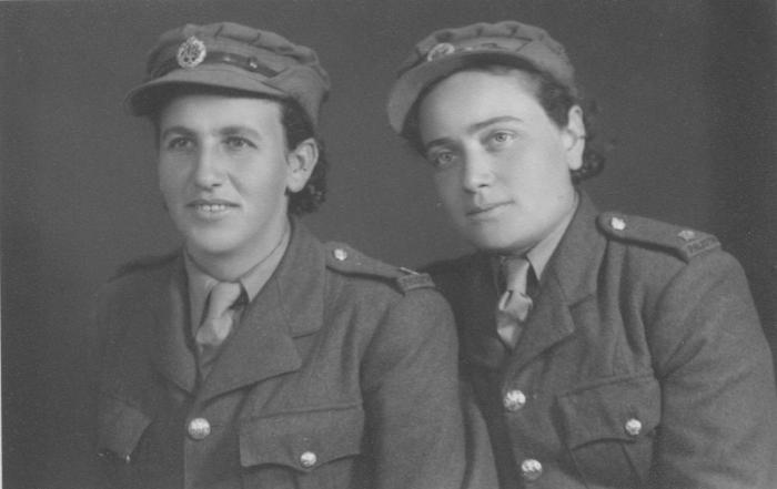 חיילות ישראליות בצבא הבריטי