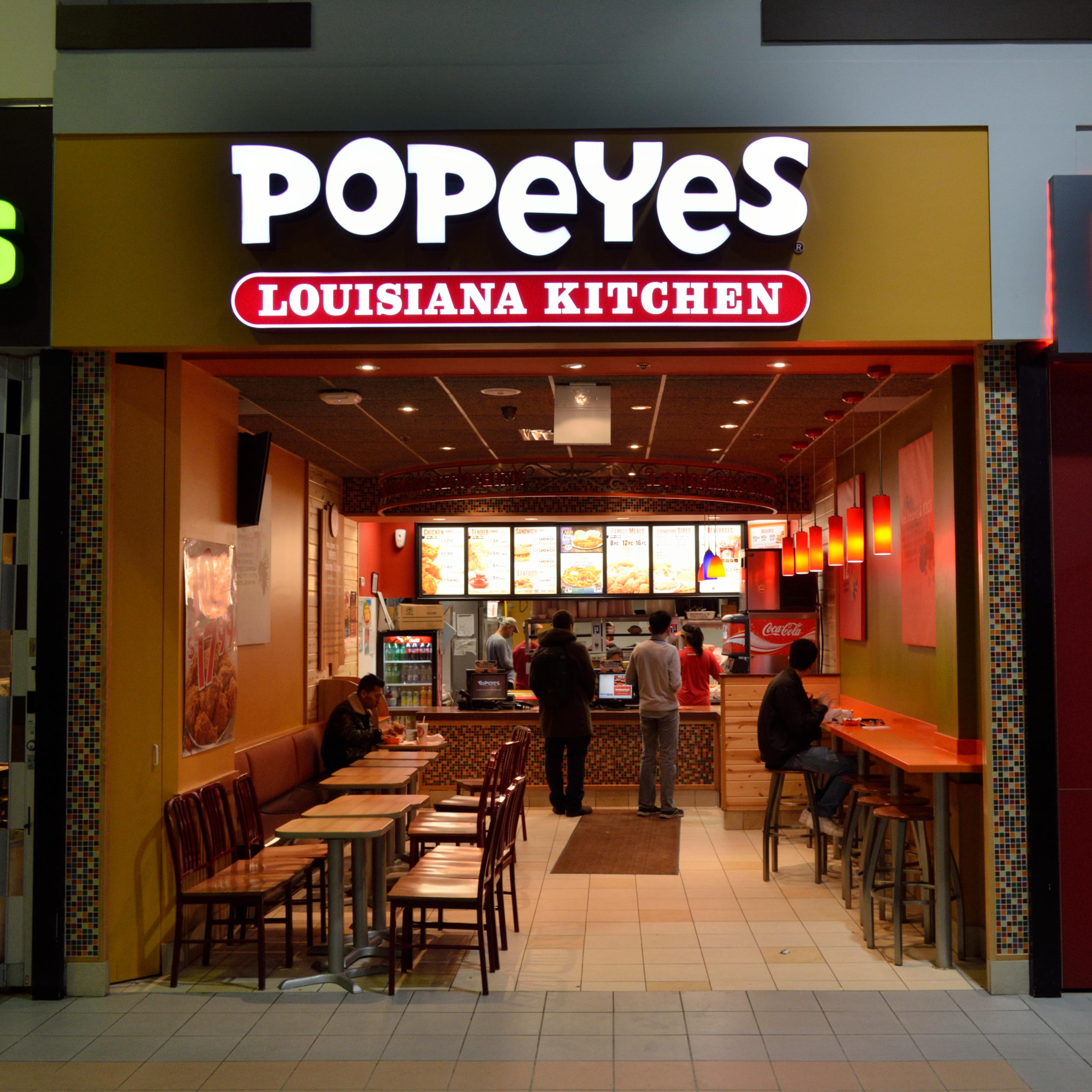 Popeyes Louisiana Kitchen Commercial