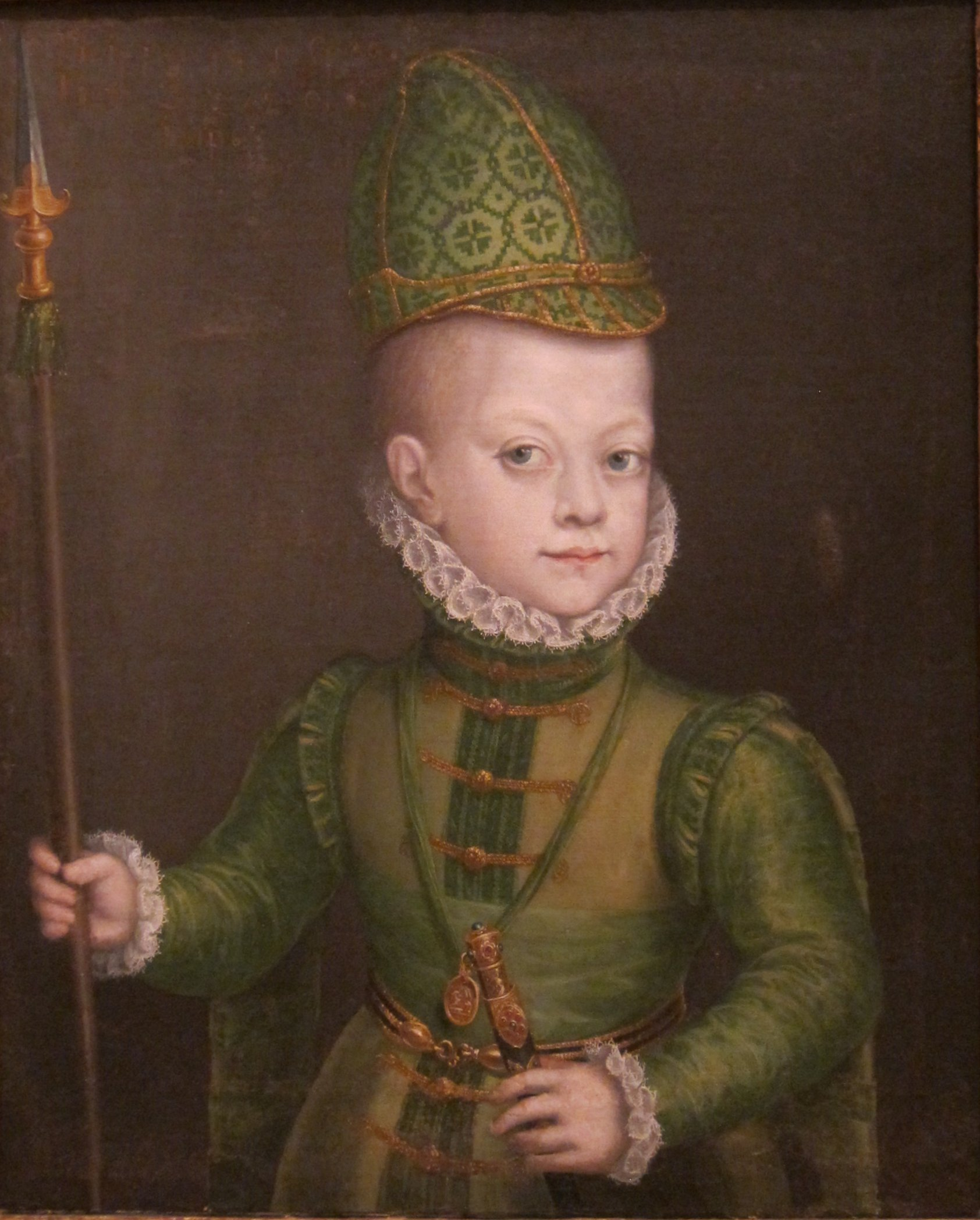 file portrait of a boy at the spanish court by sofonisba anguissola