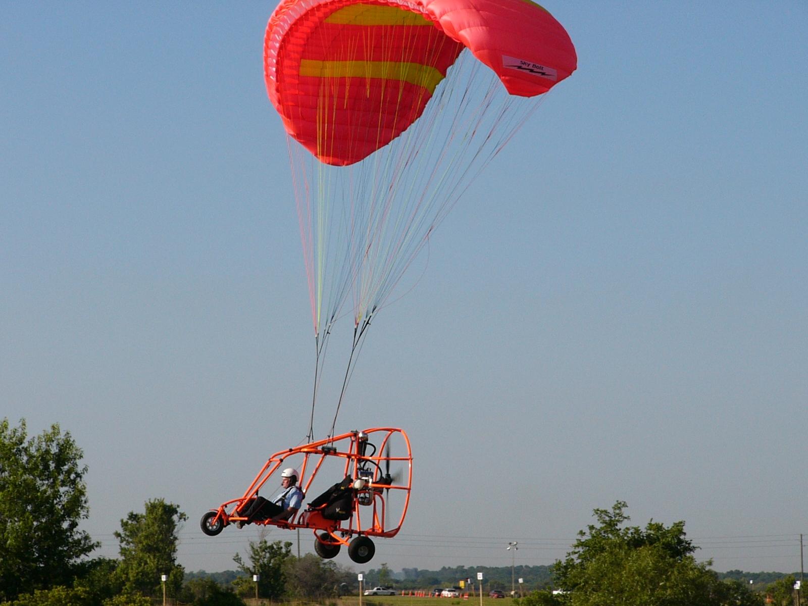 Description Powrachute Pegasus powered parachute 02.jpg