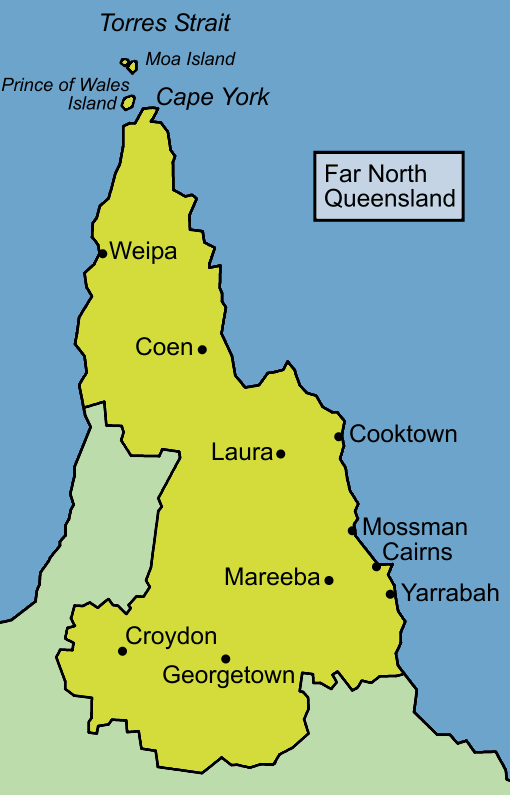 Far North Queensland Map File:Queensland far north map.PNG   Wikimedia Commons Far North Queensland Map