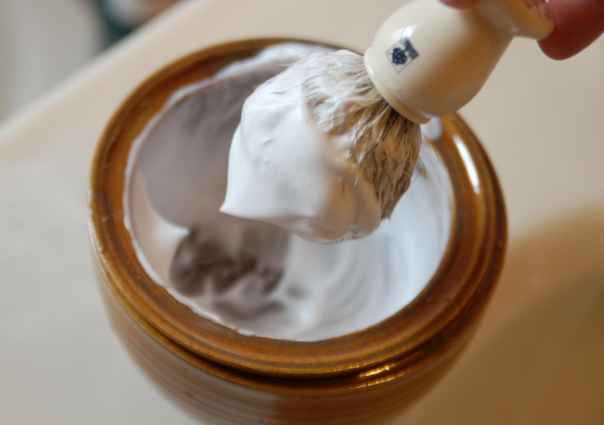 Depiction of Crema para afeitar