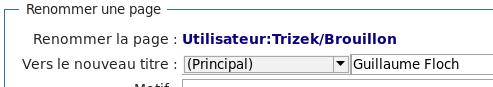 Capture d'écran d'une bonne sélection de l'espace de noms.