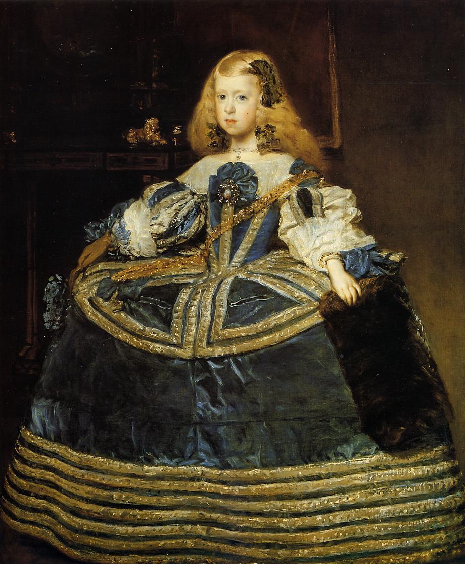 File:Retrato de la infanta Margarita (3), by Diego ...