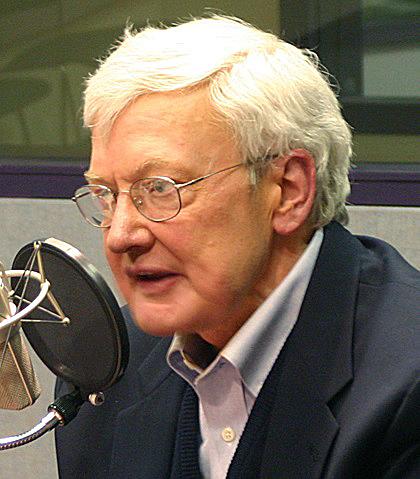 Photo Roger Ebert via Opendata BNF