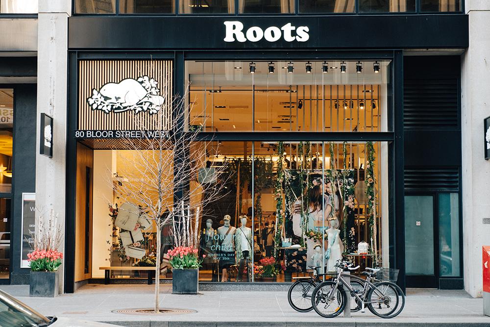 4ec13341839 Roots store on Bloor St. in Toronto