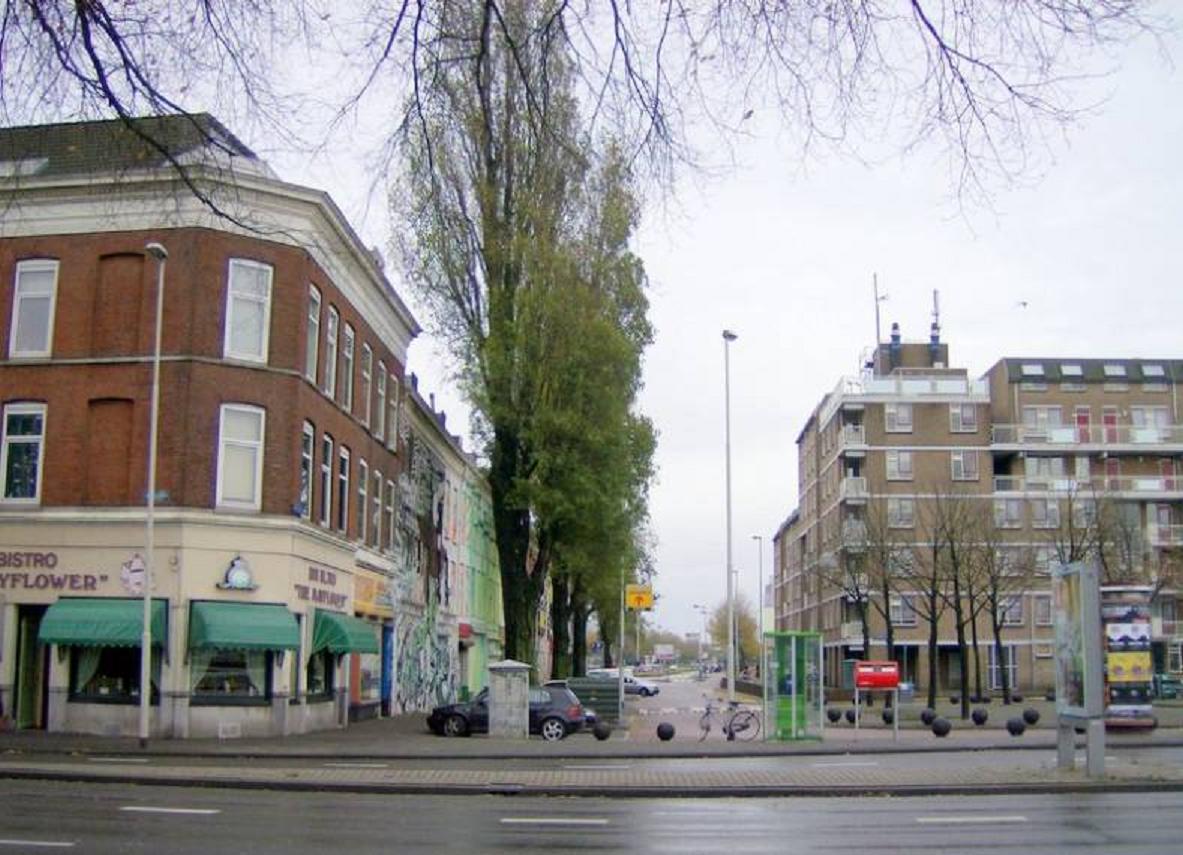 File rotterdam rosestraat gezien vanaf de stieltjesstraat for Wijk in rotterdam
