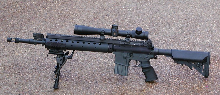 Mk 12 Special Purpose Rifle - Wikipedia, the free encyclopedia