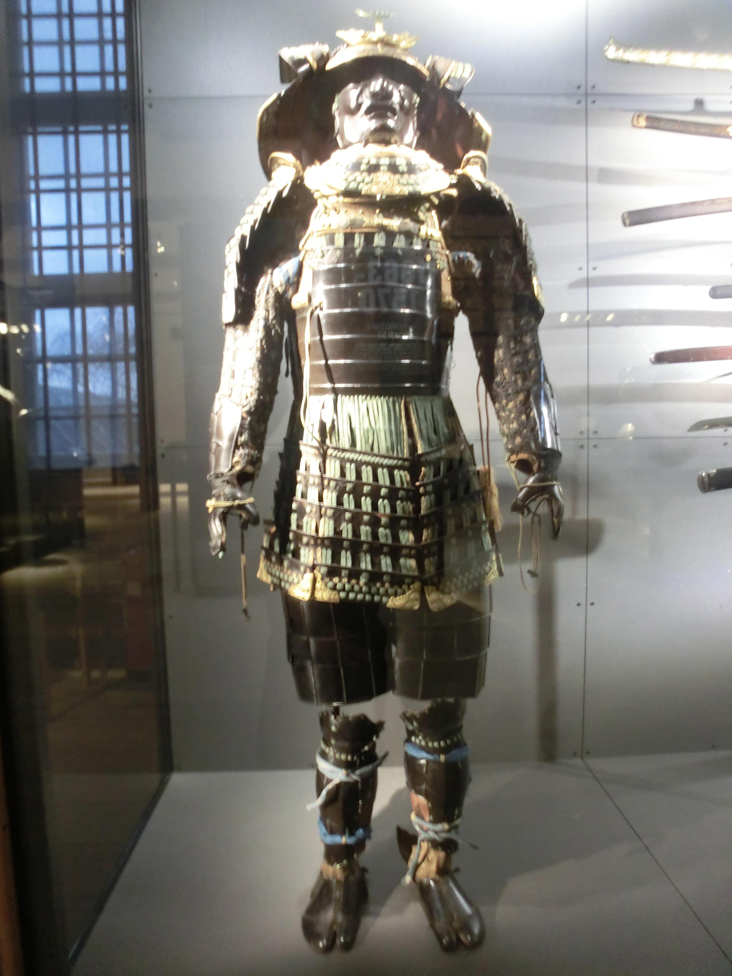 File Samurai Armour At The Royal Danish Arsenal Museum Jpg