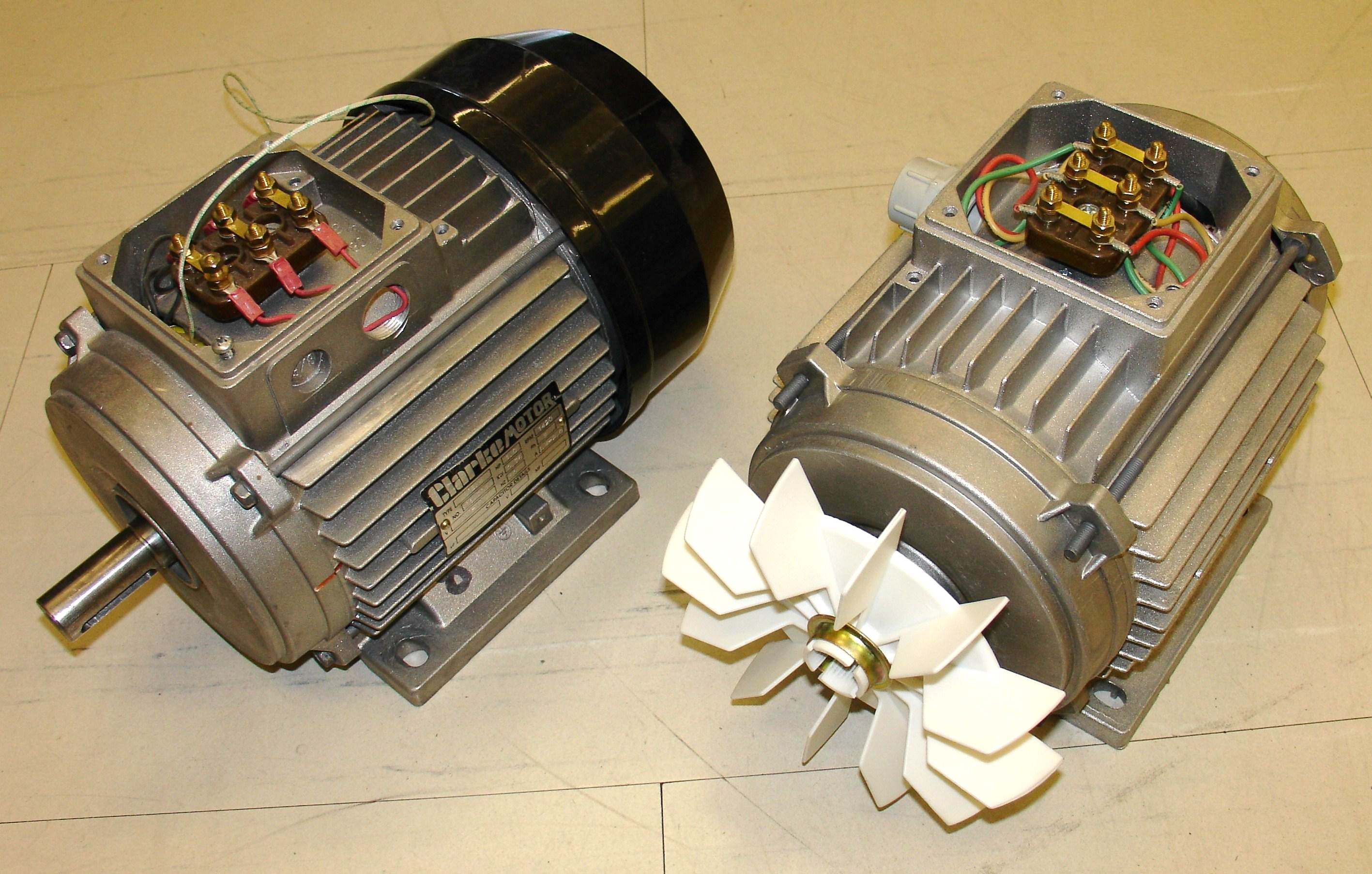 Induction Motor Wikipedia Look At A Typical 24 Volt System With 12 Engine Connection