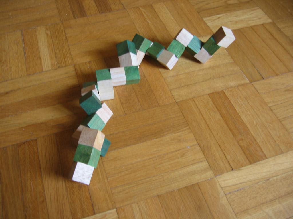 Cube En Bois A Decorer