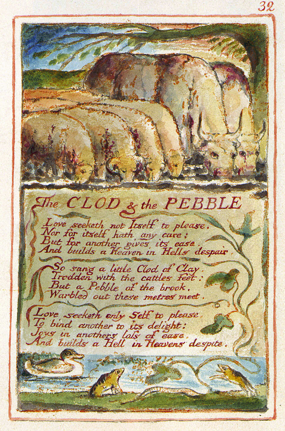 the clod and the pebble essay Home the poems of william blake e-text: the clod and the pebble e-text the poems of william blake the clod and the pebble love seeketh not itself to please, nor for itself hath any care the poems of william blake essays are academic essays for citation.