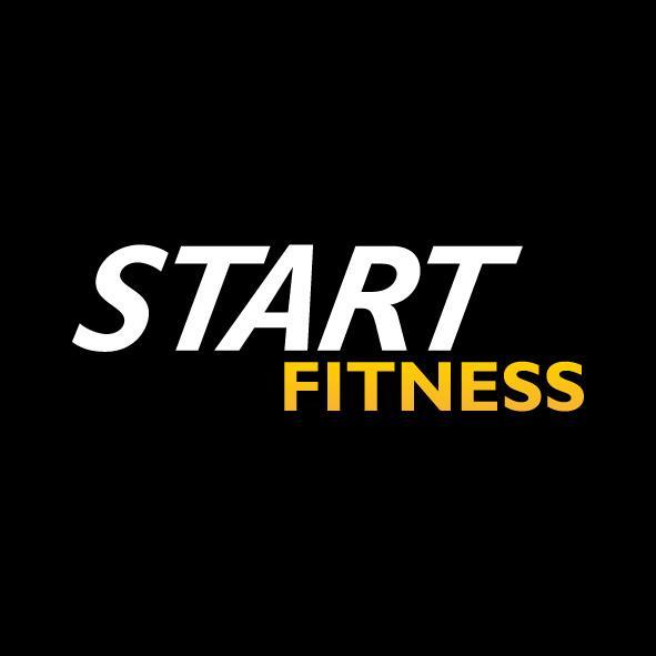 Gym Equipment Logo: Start Fitness