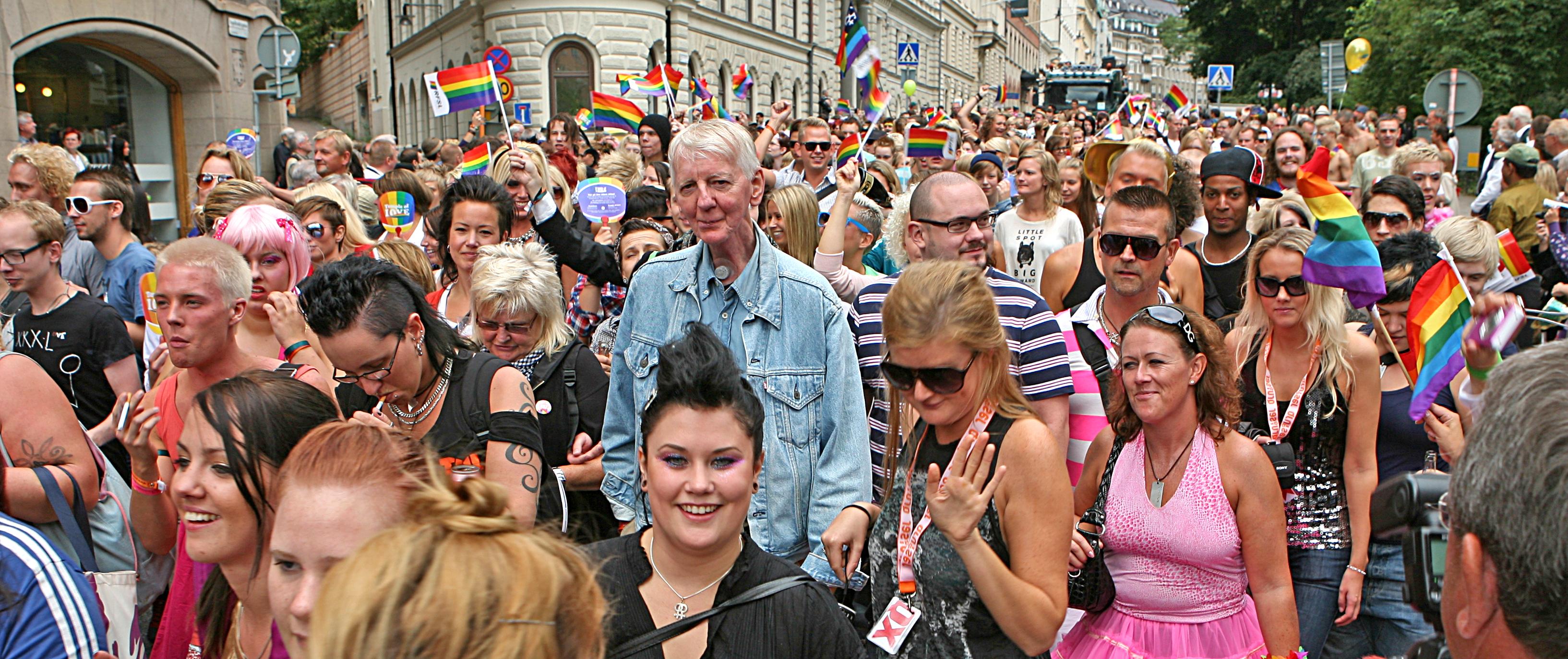 from Vance gay pride stockholm
