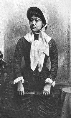 Ōyama Sutematsu (1860–1919) quando stava studiando al Vassar College.